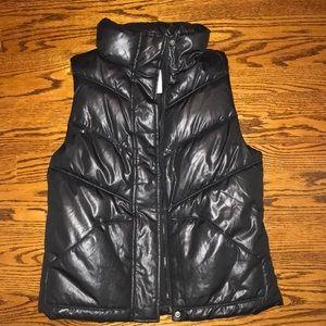Women's XS Old Navy Black Puff Vest